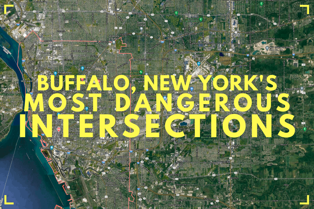 The Most Dangerous Intersections in Buffalo New York